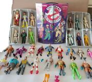 Vintage 80s Kenner Ghostbusters Action Figure Lot Of 30 - 29 Figures Plus Case