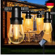 Bomcosy S14 Solar Fairy Lights For Outdoors - 8 M Light String Ip65 Waterproof