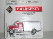 Boley 2059-17 International Crew Cab Brush Fire Truck White And Red H.o. 1/87