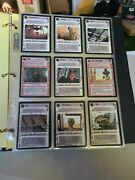 Star Wars Ccg - Complete Jabbaand039s Palace Set 180 Cards - Near Mint Condition
