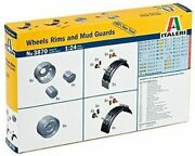 Italeri 1/24 Wheels Rims And Mud Guards For Tractor Trailers And Tankers   3870