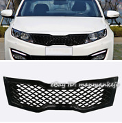 Painted Glossy Black Front Upper Bumper Grille Grill For Kia 2011-2013 Optima K5