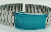 Used Genuine Rado Silver Color Wrist Watch Belt For Menand039s.