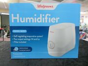 Walgreens Cool Mist Humidifier 18hr Time 0.8 Gallon Capacity Filter Included