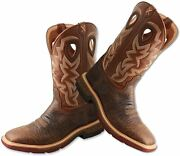 Twisted X Men's 12-inch Western Work Boots - Casual Ankle Made With...