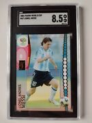 2006 Panini Lionel Messi 47 Germany World Cup Rookie Sgc 8.5 Near Mint To Mint