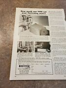 1952 Vintage Print Ad Bostitch Fasteners. How Much Can You Trust Your Costs