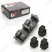 Electric Window Control Switch Set Front Rear Left Right For Seat Toledo Ii 2