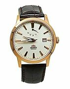 Secondhand Orient Faf05001w0 Power Reserve Automatic Winding Hand-wound Men Mens