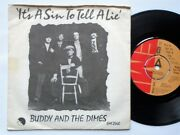Buddy And The Dimes It's A Sin To Tell A Lie 7 Emi Emi2440 Ex/vg 1976 Demo In Pic