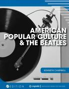 American Popular Culture And The Beatles, Brand New, Free Shipping In The Us