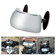 Motorcycle Windscreen 180° Degree Blind Spot Mirror Wide Angle Rearview Mirrors