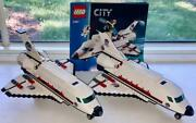 2 X Lego City Nasa Space Shuttle Set 3367 W/mini Figures And Instructionscomplete