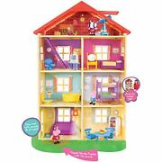 Peppa Pigand039s Lights And Sounds Family Home Feature Playset