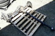 1929 Chevy Chevrolet Rear End Assembly Complete From Restored Car Original Used