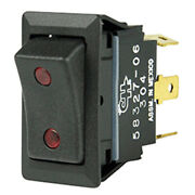 Cole Hersee Sealed Rocker Switch W/small Round Pilot Lights Spdt On-off-on 4 ...