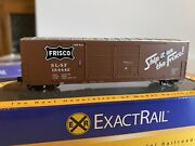 Exactrail N-scale Train St. Louis And San Francisco Gunderson 5200 Boxcar