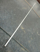 1938 Chevrolet Master Deluxe Thin Hood Side Panel Molding 35 3/4 Inches 2