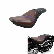 Driver Passenger Seat Fit For Harley Softail Standard Deluxe Street Bob2018-2021