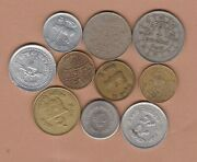 Ten Coins From Nepal In Very Fine Or Better Condition