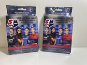 2021 Official Nwsl Trading Cards Premier Edition Hanger Box Womens Soccer 2 Pack