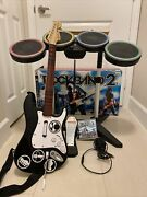 Ps3 Rock Band 2 Special Edition Bundle Kit Guitar Drums Game And Mic