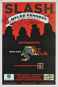5 Slash Kennedy Kerns Fitz And Sidoras Signed 11x17 2012 Concert Poster Bas
