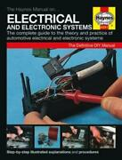 Haynes Manual Car Electrical And Electronic Systems Wiring Ignition Charging