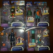 Space Jam New Legacy Action Figures Set Of 4 Lebron Bugs Marvin Lot Moose Toys