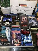 Rare Horror Vhs Lot Maniac Cop 2 Promotional Copy, Last House On The Left Sealed