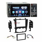 Concept Dvd Usb Bluetooth Stereo Dash Kit Harness For 2007-11 Nissan Altima