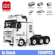 Prime Mover Remote Control Truck Building Blocks Container Kids Toys