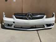 06-11 Mercedes W219 Cls550 Cls63 Amg Front Bumper Cover Assembly White Oem
