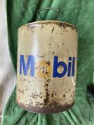 Vintage 5 Gallon Mobil Oil Can, Price Reduced