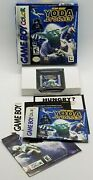 Star Wars Yoda Stories Nintendo Game Boy Color, 1999 Rare, Complete W/ Poster