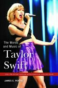 Words And Music Of Taylor Swift Hardcover By Perone James E. Brand New Fr...