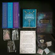 Cassandra Clare Infernal Devices Stamp Signed Full Illumicrate Box Shadowhunters