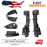 For 2016 2017 2018 Chevy Chevrolet Malibu Front Bumper Retainer Brackets Support