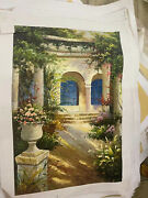 Oil Flowers House Paintings On Canvas Size 2431inches
