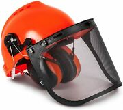 Todocope Chainsaw Safety Helmet With Face Shield And Ear Muffs,chainsaw Helmet,s