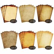 Stationary Paper 48 Pack Parchment Antique Colored Printed Paper Stationery V...