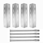 Stainless Steel Heat Plate And Grill Burner Replacement Kit For Nexgrill 720