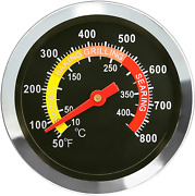 Bbq Charcoal Grill Pit Thermometers Temperature Gauge Barbecue Meat Cooking Beef