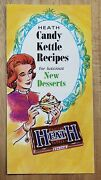 Heath Candy Kettle Recipes Advertising Flyer