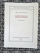 Financing The California Missions Historical Notes And Docs 1/2000 Mexican Book