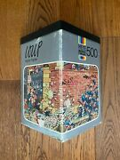 Extremely Rare Heye 500 - Mighty Fightie - Jigsaw Puzzle By Loup 1974
