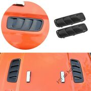 For Jeep Wrangler Jl 18-2020 Black Car Machine Cover Air Outlet Frame Cover 2pcs