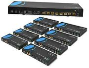 Hdmi Extender Splitter Hdbaset 4k By Multiple Over Single Cable Cat6/7 1x8