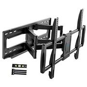 Tv Wall Mount Bracket Articulating Full Motion For 50-90 Inch Flat Curved Led