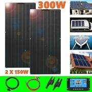 150w 300w 600w Solar Panel System For Rv Home Battery Charger Photovoltaic Kit